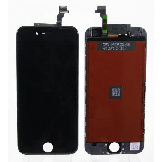 Дисплей в сборе с тачскрином (модуль) iPhone 6 в сборе Черный - AA